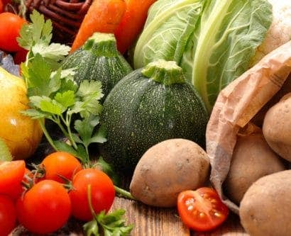 store vegetables and fruit