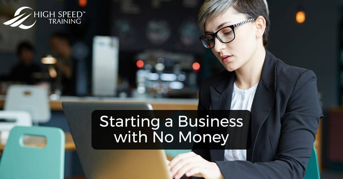 how to make a business with no money
