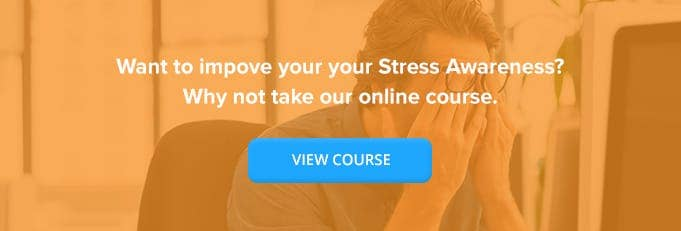 Stress Awareness in the Workplace Online Training Course Online Training Course Banner from High Speed Training