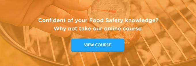 Level 2 Food Hygiene and Safety Online Training Course Banner from High Speed Training