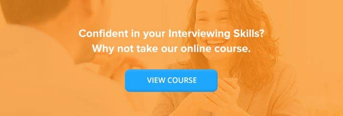 Interviewing Skills for Managers Online Training Course Banner from High Speed Training