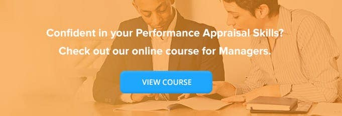 Performance Appraisal Training Online Course Banner from High Speed Training