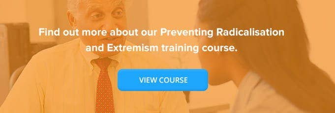Prevent Training Course Banner from High Speed Training