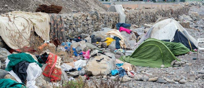 Refugee camps targeted by European human traffickers