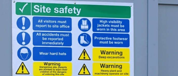 ppe safety sign