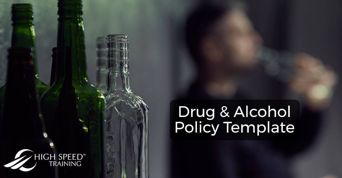 Drug and Alcohol Policy Template - Free Download