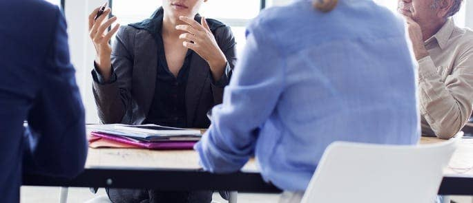 evaluating interview performance meeting
