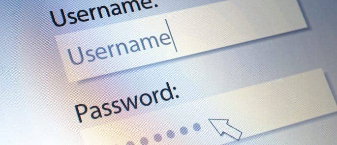 Creating a strong password for an online account